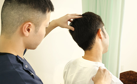 首の痛みの治療はあいあい整骨院におまかせください